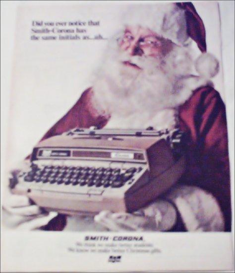 1971 Smith-Corona Electric Typewriter Christmas ad