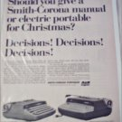 Smith-Corona Portables Christmas ad
