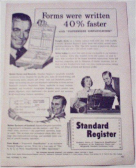 1948 Standard Register ad