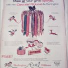 Burlington Carousel Christmas Ribbons ad