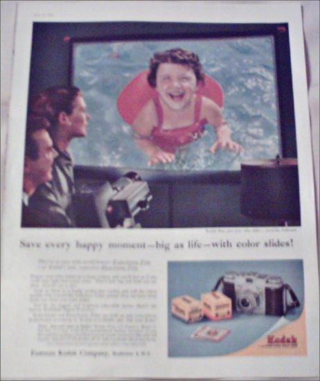 1956 Kodak Color Slides ad