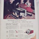 1957 Kodak Cavalcade Projector ad