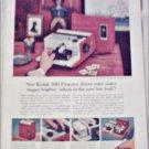 1957 Kodak 300 Projector ad
