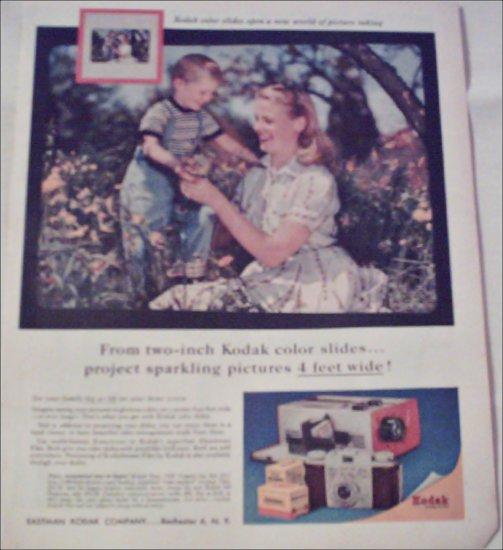 1957 Kodak Color Slides ad