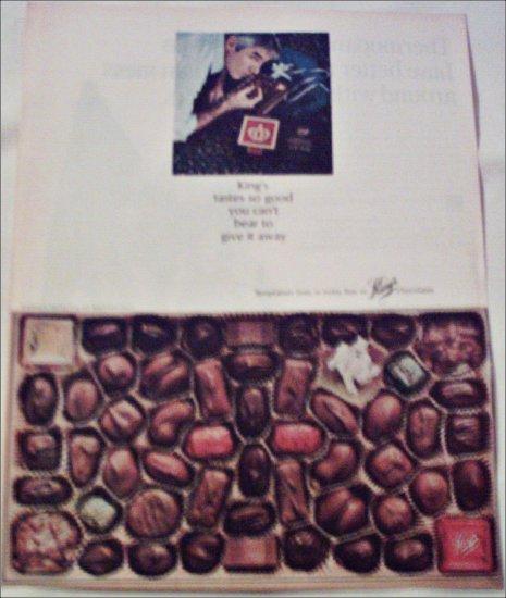 King's Chocolates ad