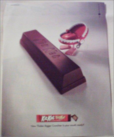 2000 Kit Kat Candy Bar ad #1
