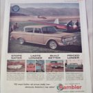 1962 American Motors Rambler Classic Six 400 4 dr sedan car ad