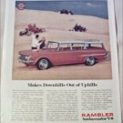 1962 American Motors Ambassador 4 dr stationwagon car ad