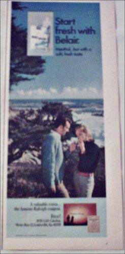 1970 Belair Cigarettes Fresh ad #1