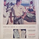 1955 Arrow Checkaire Sport Shirts ad