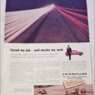 1959 Caterpillar Tractor Company ad