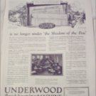 1923 Underwood Bookkeeping Machine ad