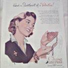1953 Chase Brass & Copper Company Valentine ad