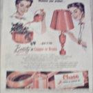 1954 Chase Brass & Copper Company ad