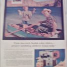 1957 Kodak Color Slides Fishing ad