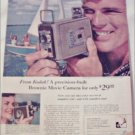 1957 Kodak Brownie Movie Camera ad