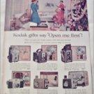 1957 Kodak Cameras Christmas ad