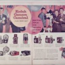 1958 Kodak Camera ad featuring Ed Sullivan, Ozzie & Harriet and Rick and David Nelson