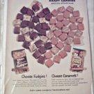 1959 Kraft Candies ad