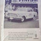 1962 Champion ad featuring Rambler American 400 2 dr sedan