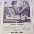 1962 American Motors Lubrication ad