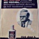 1996 Bic Whiteout ad