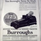 1923 Burroughs Calculating Machine ad