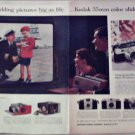1958 Kodak 35 mm Color Slides Airline ad