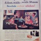 1959 Kodak Color Slides ad