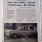 1963 American Motors Rambler Drive Report article