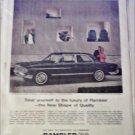 1963 American Motors Rambler Ambassador V8 990 4 dr sedan car ad