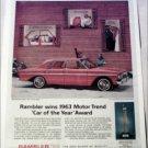 1963 American Motors Rambler Classic 770 4 dr sedan Motor Trend car ad