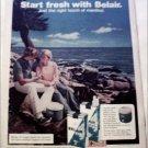 1972 Belair & Belair Filter Longs Cooler ad