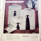 1957 Arrow Travel Trio Shirt ad