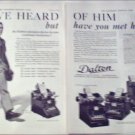 1923 Dalton Business Machines ad
