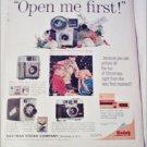1960 Kodak Cameras Christmas ad