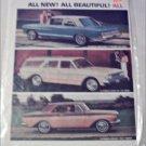 1963 American Motors Rambler Lineup car ad