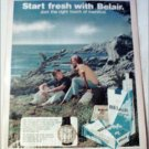 1972 Belair & Belair Filter Longs Watch ad