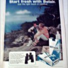 1972 Belair & Belair Filter Longs Binoculars ad