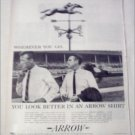 1959 Arrow Chase and Tide Shirts ad