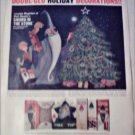 1963 Doubl-Glo Holiday Decorations Sword in the Stone ad