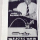 Cordley Electric Water Coolers ad