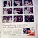 1961 Kodak Brownie Movie Camera ad