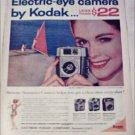 1961 Kodak Brownie Starmeter Camera ad