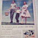 1961 Kodak Brownie Starmite Camera ad