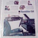1964 American Motors Rambler Ambassador 990-H 2 dr ht car ad
