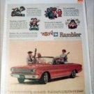 1964 American Motors Rambler American 440 convertible car ad