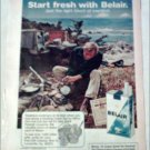 1972 Belair Cigarettes Camp Set ad
