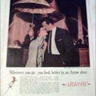 1960 Arrow Whip Shirt ad
