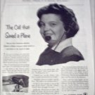 1951 Bell Telephone Lost Plane ad